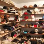 Hat display first floor